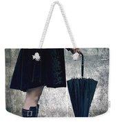 Black Umbrellla Weekender Tote Bag