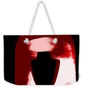 Black Urn Weekender Tote Bag