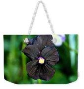 Black Violet Weekender Tote Bag