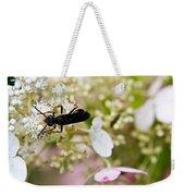 Black Wasp 2 Weekender Tote Bag