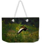 Blackbellied Whistling Duck In Flight Weekender Tote Bag