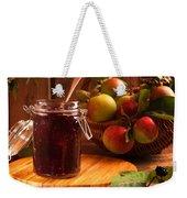 Blackberry And Apple Jam Weekender Tote Bag