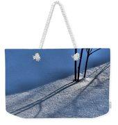 Blackberry Blue Weekender Tote Bag