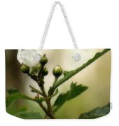 Blackberry Vine Flower Weekender Tote Bag