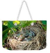 Blackbird Nest Weekender Tote Bag