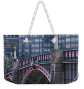 Blackfriars Bridge Weekender Tote Bag
