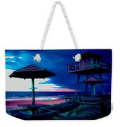 Blacklight Tower Weekender Tote Bag