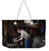 Blacksmith - Tinkering With Metal  Weekender Tote Bag
