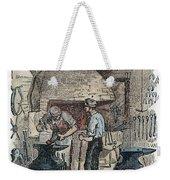 Blacksmith, C1865 Weekender Tote Bag