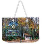 Blacksmith Shop Weekender Tote Bag by Debra and Dave Vanderlaan