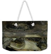 Blandings Swimming Turtle Weekender Tote Bag