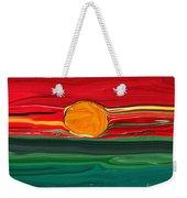 Blazing Red Sky Weekender Tote Bag