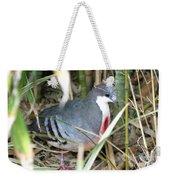 Bleeding Heart Pigeon Weekender Tote Bag
