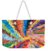Blocks Of Color From A Pen And Ink Drawing Weekender Tote Bag