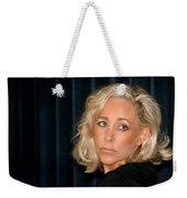 Blond Woman Sad Weekender Tote Bag