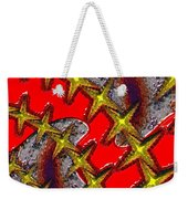 Blood On The Wire Weekender Tote Bag