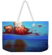 Blood Red Clouds Weekender Tote Bag