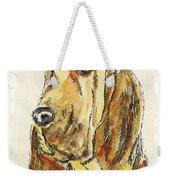 Bloodhound-watercolor Weekender Tote Bag