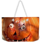 Bloody Pumpkin Weekender Tote Bag