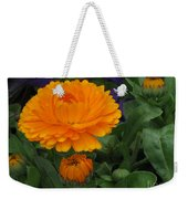 Blooming Gold Weekender Tote Bag