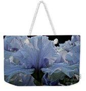 Blooming Iris Weekender Tote Bag