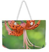 Blooming Tiger Weekender Tote Bag