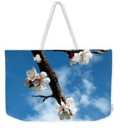 Blossoming Apricot Weekender Tote Bag
