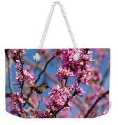 Blossoming Bird Weekender Tote Bag