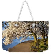Blossoming Cherry Trees Weekender Tote Bag