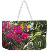Blossoms And Breadfruit Weekender Tote Bag