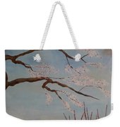 Blossoms Over The Lake Weekender Tote Bag