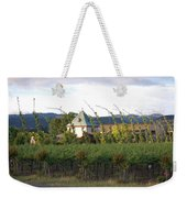 Blowing Grape Vines Weekender Tote Bag by Holly Blunkall
