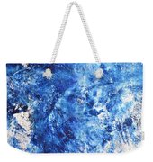 Ocean - Blue Abstract Art Paintingi Weekender Tote Bag