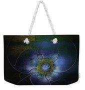 Blue Anemone Weekender Tote Bag