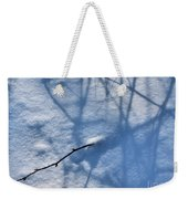 Blue Blackberry Shadows Weekender Tote Bag