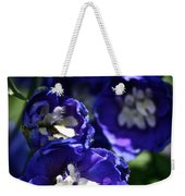 Blue Blossoms Weekender Tote Bag