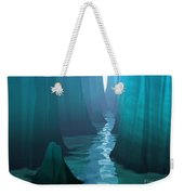 Blue Canyon River Weekender Tote Bag