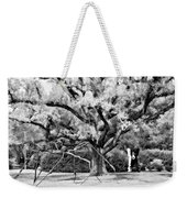 Blue Dog And The Spider Infrared Weekender Tote Bag