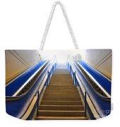 Blue Escalators Weekender Tote Bag
