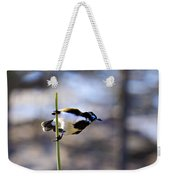 Blue Faced Honey Eater V3 Weekender Tote Bag