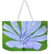 Blue Flower Weekender Tote Bag