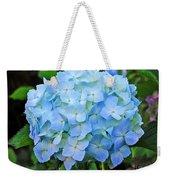 Blue Garden Flower Weekender Tote Bag