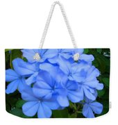 Blue Flowers Weekender Tote Bag