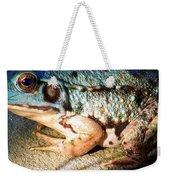 Blue Frog Weekender Tote Bag