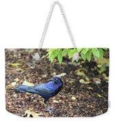 Blue Grackle Weekender Tote Bag