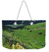 Blue Grouse Pass, Willmore Wilderness Weekender Tote Bag