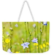 Blue Harebells Wildflowers Weekender Tote Bag