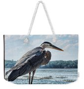 Blue Heron 1 Weekender Tote Bag