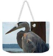 Blue Heron 2 Weekender Tote Bag