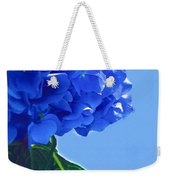 Blue Hortensia Hydrangea Weekender Tote Bag